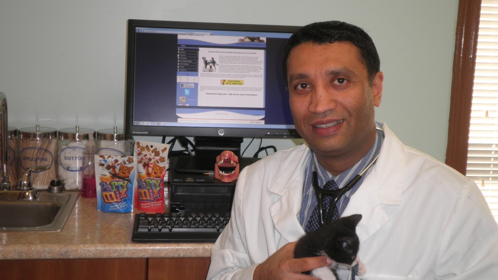 Hamilton Road Animal Hospital London Ontario our veterinarian Dr Avapal Exotic Veterinarian London Ontario